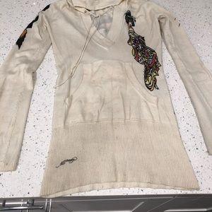 Ed Hardy sweater / sweatshirt tunic